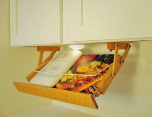 Lighted Cookbook Holder