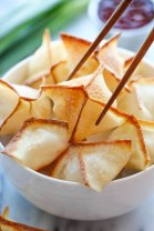 BAKED CREAM CHEESE WONTONS