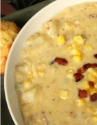 Crock Pot Corn and Potato Chowder