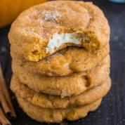 Pumpkin Cheesecake Snickerdoodles