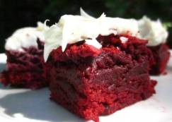 Brownies, Yummy Red Velvet even!