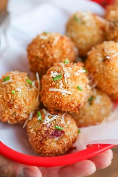 Loaded Potato Balls