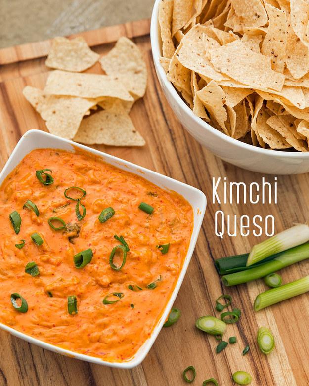 Kimchi Queso