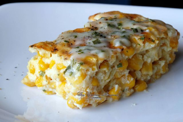 Baked-Creamy-Corn-Casserole