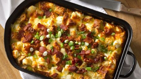 bacon-bagel-egg-casserole