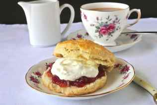 Afternoon tea with clotted cream